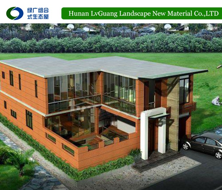 2016 New design cheap high quality prefabricated bungalow