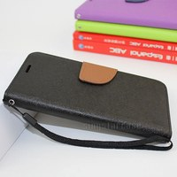 New Wallet Leather Book Style Flip Cover Phone Case For ZTE Blade A610