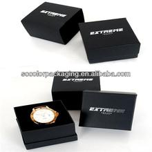 Unique design single luxury watch collector packaging box for men