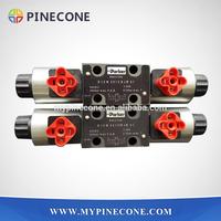 Concrete Pump Spare Parts D1VW001CNJW91 / D1VW002CNJW91 Parker Solenoid Directional Control Valve
