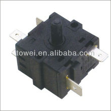 16A 250V double pole double throw rotary switch