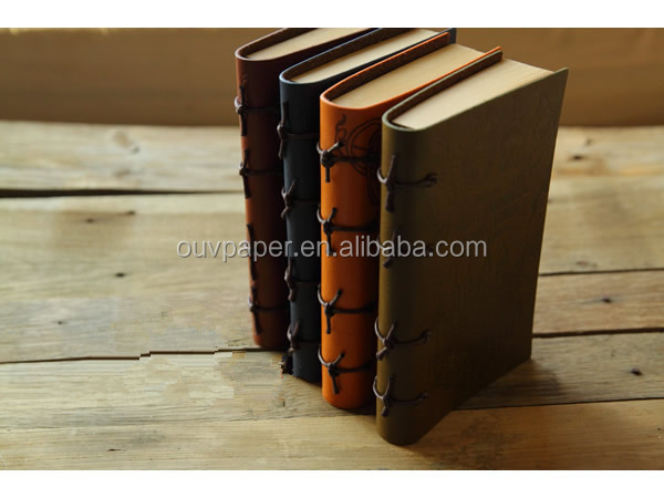 Custom Vintage Leather Journal Travel Notebook