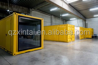 The new modular combined 20/40 feet container office
