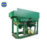 High Effective Gold Mining Concentration Jigging Machine Separator For Gravity Mineral Separation