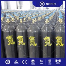 2017 high quality 50L nitrogen gas cylinder types in different sizes