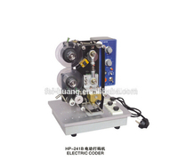 Manufacture Electric semi-auto hot ribbon coding machine batch expiry date stamping printing