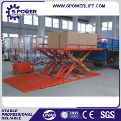 Scissor type used car scissor lift hoist for sale car lifting machine for basement used