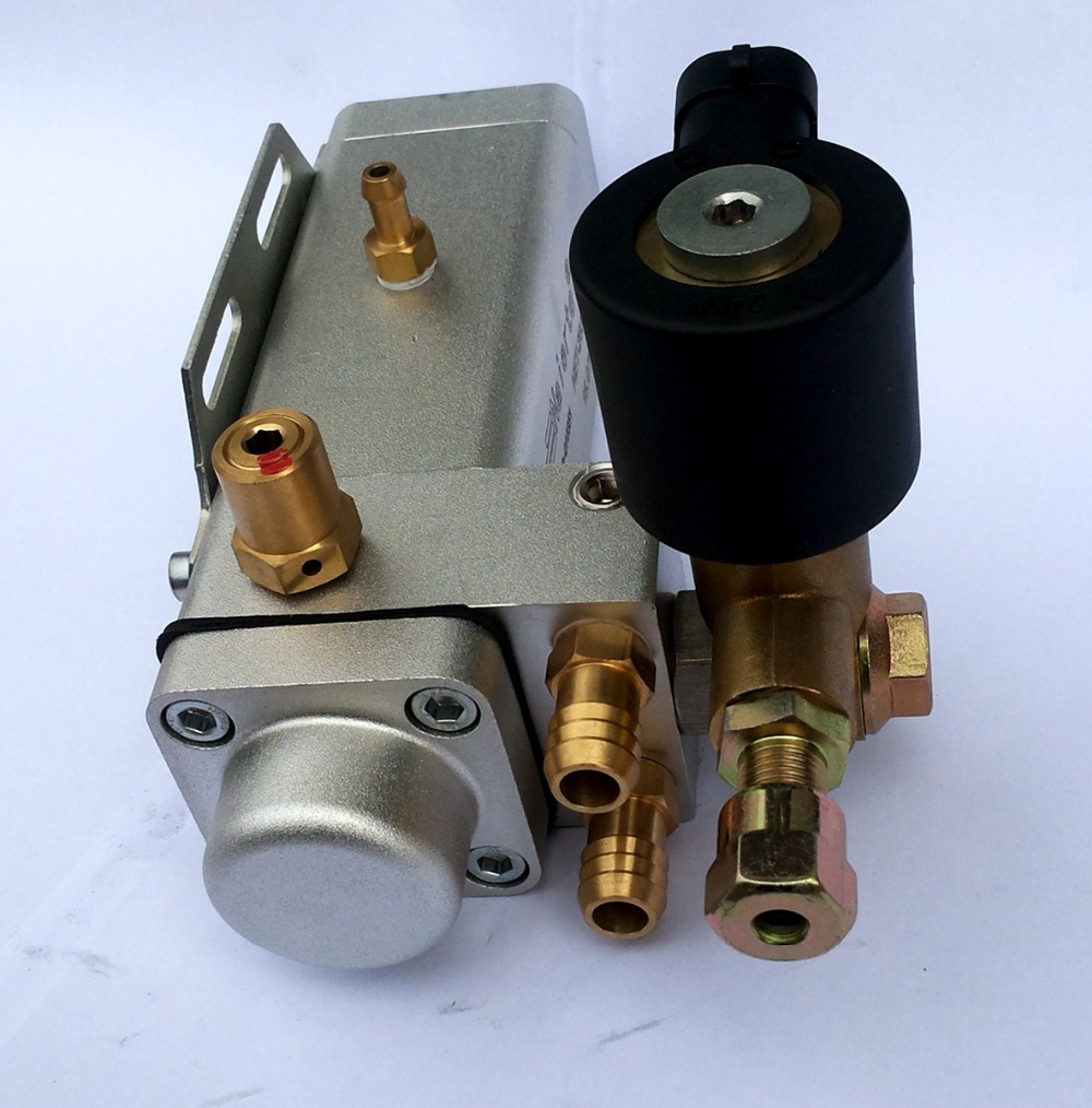Natural gas high pressure regulator for CNG LNG engine