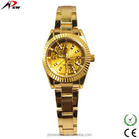 new product gold watches quartz watch