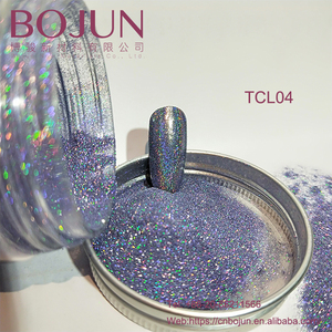 2018 Good quality holographic pigment chrome powder,Solvent Resistance fine Glitter powder, cosmetic grade mica powder