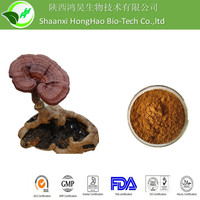 Organic Yellow Brown Powder UV 30% polysaccharides reishi mushroom extract
