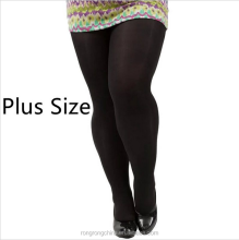 Custom Sample Pantyhose Free Plus Size Classic Black XXL Pantyhose Tights For Fat Women