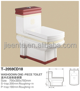 Ceramic toilet from chaozhou directly factory