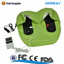 Sunmas Free size Electro Therapy comfortable Air Pressure electric foot massager machine