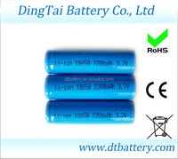 Low price 18650 3.7v 1850mah li-ion rechargeable battery 26650 32650
