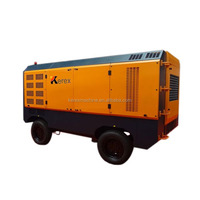 Heavy duty 24bar towable diesel screw air compressor