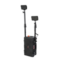 Quality 2 head 72W heavy duty rechargable led outdoor work flood light