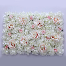 Artificial flower wall for wedding backdrop & stage background decoration artificial flower carpet
