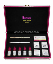 Biomaser High Quality Microblading Pigment Set with Microblading Pen/Needle/Practice Skin