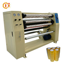 GL-210 CE Certificated Automatic Scotch Tape Slitting rewinding Machine with auto paper core cutting - loading -unloading