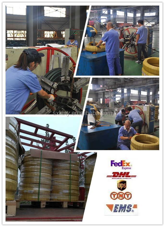 Flexible Hydraulic Hose Lowest Price Braided Steel Wire Reinforced Hydraulic Rubber Hose