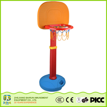 Bairun Hot Children Toys Outdoor Medium Size Plastic Portable Basketball Hoop Stand