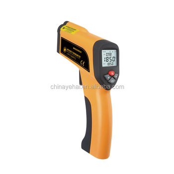 Raytek Infrared Thermometer High Temperature Instruments Handheld Non-Contact Digital Infrared Thermometer YH73