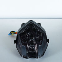 For TRIUMPH 2013 2014 STREET TRIPLE R DAYTONA 675 smoke lens with signal motorcycle led tail lights