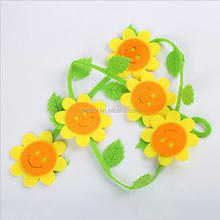 DEMI Wholesale sunflower diy kids room 3d wall stickers home decor