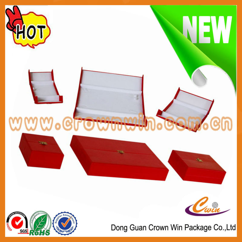 2016 new design gift box jewelry in Dongguan