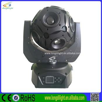 Newest led disco 12 x 20W RGBW 4in1 led beam football moving head