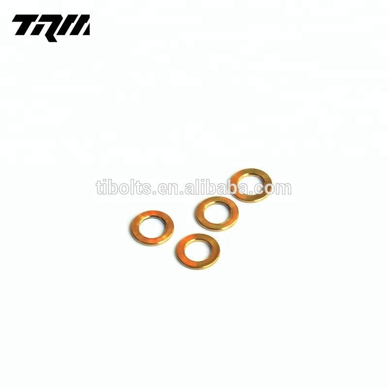 6AL4V GR5 motorcycle bicycle car titanium washer m5 m6 <strong>m8</strong>