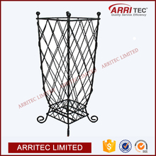 alibabab china wholesale free standing classic style home use hotal lobby metal floor wire umbrella storage basket