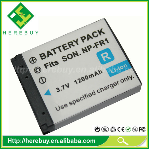 Made in China 3.7V 1050mAh Digital Camera Li-ion Battery NP-FR1 for Sony DSC-F88 P100 P150 P200 V3 G1 T30 T50