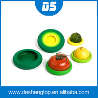 2015 new arrival Silicone Fruit Vegetable Food Huggers Storage Cover,Silicone Rubber Food Huggers
