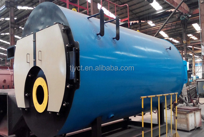 Industrial 6 Ton Steam Boiler Coal Fired Low Exhausted Smoke Temperature
