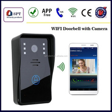 wifi camera, wifi wireless apartment building video intercom system, video door phone wifi