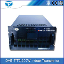 200w digital TV/smart tv digital dvb-t transmitter for wireless tv