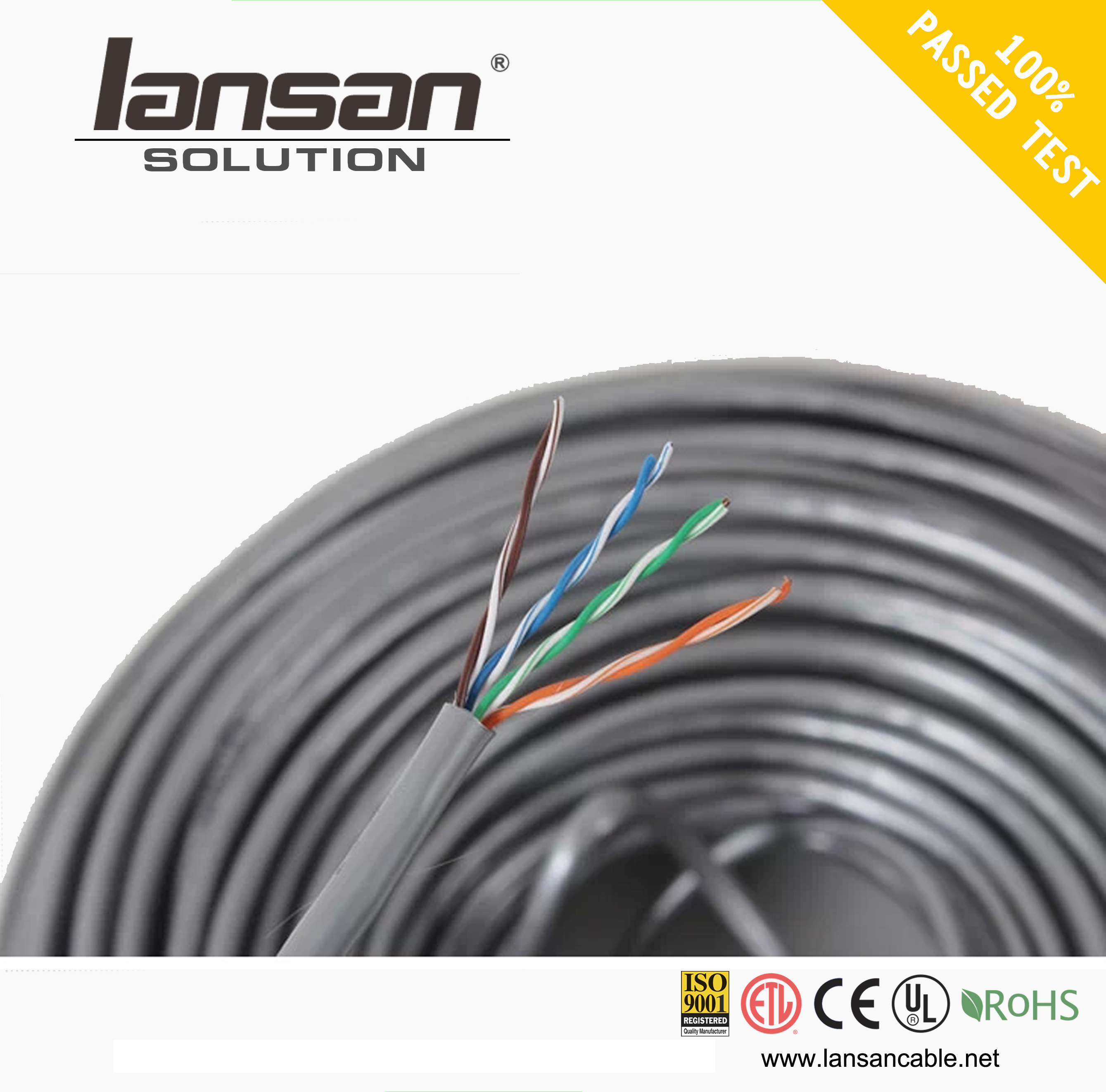 China Good high speed utp cat5e cable Lan china supplier
