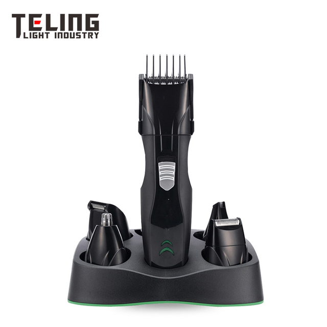 Professional 5 in 1 Man's Grooming Kit Hair Clippers Beard Trimmer Dual Shaver Body Trimmer Nose Hair Trimmer