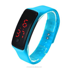 Fashion Men Candy Silicone Strap Women LED Watch Date Sports Bracelet Silicone Wrist Watches relojes