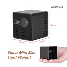 2017 New portable Video DLP Digital HDMI USB AV SD Home Theater fuLl HD 1080P Proyector Mini LED Projector