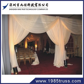 Cheap pipe and drape backdrop stands for Event and wedding decoration