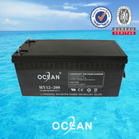 2014 high quality vrla professional apc battery Payment O/A 12V 200AH ups lead acid battery