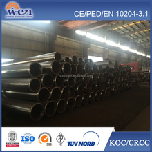 Q345 ASTM ERW Bright Surface carbon steel round pipe and tubes