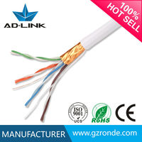 Network Cable/LAN Cable/ethernet cable (305m in pull box)/ 24awg ftp cat5e cable 4 pair