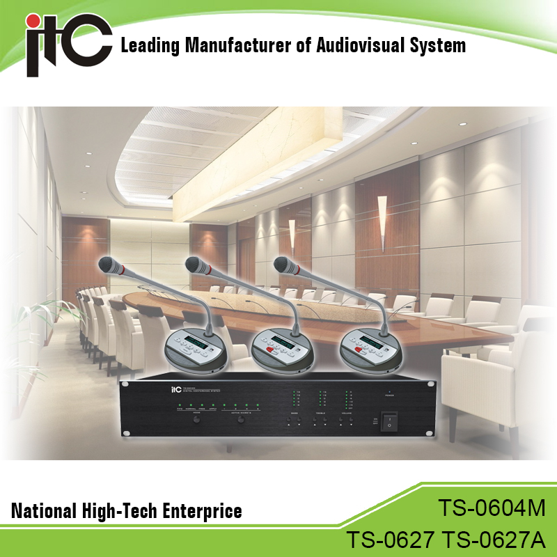 ITC T-0604 Series Excellent Expandibitiy Support Tracking Camera Audio Conferencing System