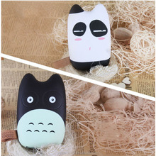 Lovely angry totoro promotional gift customized 10000mah 9000mah power bank