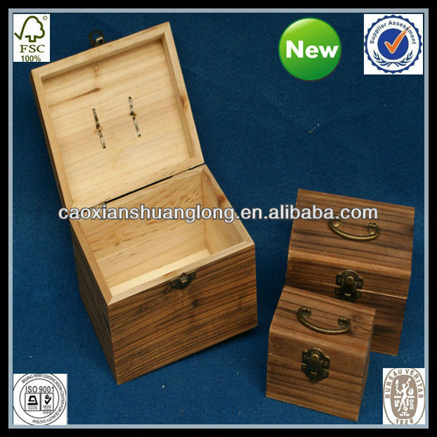 Cheap Antique Wooden Spice Boxes Factory