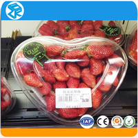 New Design wholesale plastic packaging boxes for packing fruit strawberry cherry
